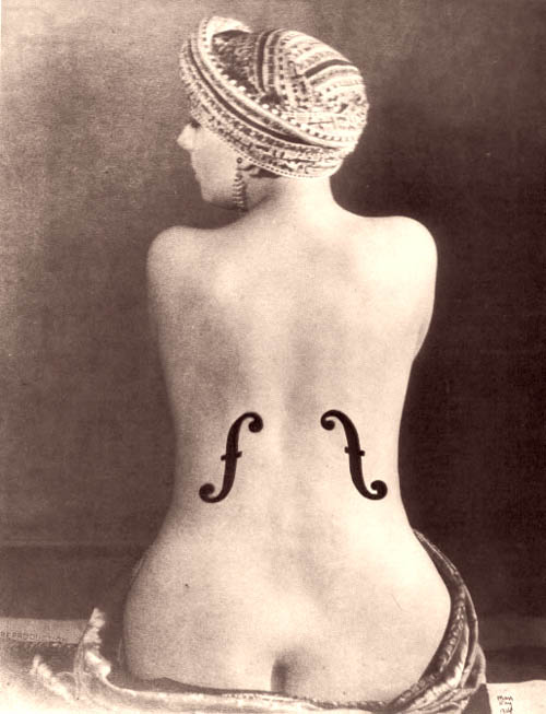 Le Violon d'Ingres, de Man Ray